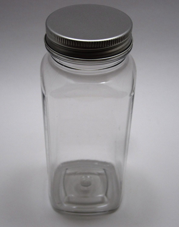 10 Plastic Bottles with Aluminum Lids - 8oz - Wedding Favor ...