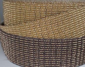 40 mm Beautiful cotton  strap