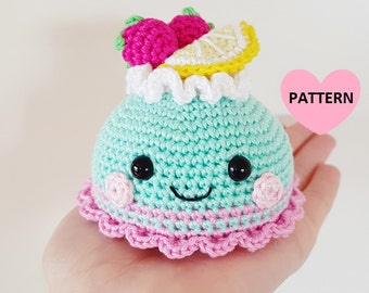 Pastry / Cake PDF pattern amigurumi crochet
