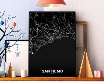 Art Prints Ospedaletti San Remo A4 Photo Print