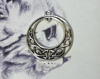 Viking Celtic large print charm