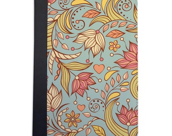 Lovely Spring Floral Pattern Folio Case For The iPad Mini 1, 2, 3 and 4 Only
