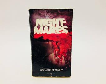 Vintage Horror Book Nightmares -Charles L. Grant 1979 Paperback Anthology