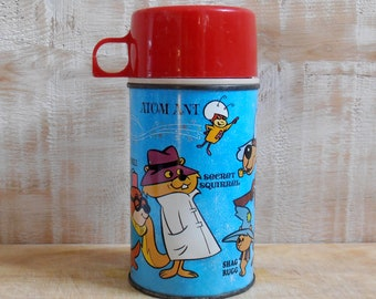 Vintage Thermos 1966 - Hanna-Barbera - USA - lunch box