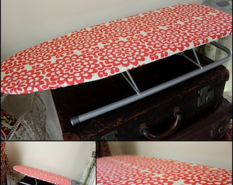 Small Ironing Board Cover//Table Top Size // Ikea Jall Board Size // YOU PICK FABRIC // Full size-Standard size board cover also available