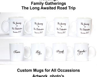 Custom Mug | Personalized Gift | Coffee, Tea, Hot Chocolate Mug | Birthday Gift | Custom Art Mug | Mothers Day Gift | Designer Mug