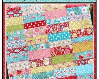 PDF Quilt Pattern Apple Cobbler Baby Toddler Carlene Westberg Designs