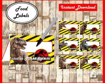 Jurassic Orld Food Labels Free Download