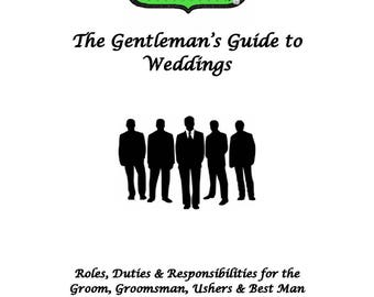 Additional Pages to Wedding Planner - The Gentleman's Guide to Weddings - sold as add-on to Wedding Planner only