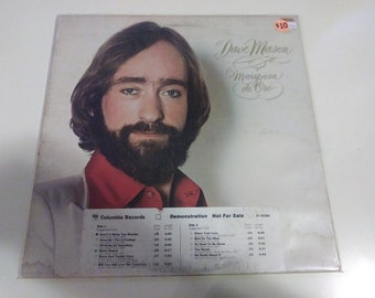 Dave Mason - Mariposa De Oro VG+ Original promo Press Columbia PC 35285 Record 1978 - Play Tested Pop Rock White Disc Label