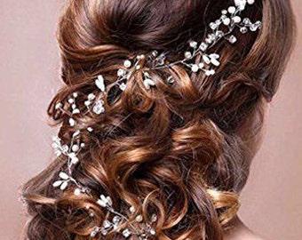 Bridal hair vine bridal hair accessory