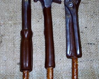 Chocolate Pretzel Tool Rods