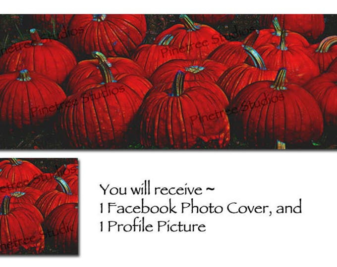 Pumpkin Patch Mysterious ~ Facebook Blank Cover Photo and Profile Picture