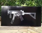 MP5k Submachine  gun CAT scan ...