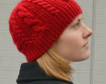 Lineweaver Hat PDF Knitting Pattern by Vint Hill Knits