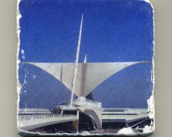 Milwaukee Art Museum-  Original Coaster