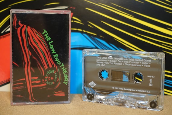 The Low End Theory by A Tribe Called Quest Vintage Cassette Tape