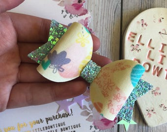 SALE Pastel Easter Bow