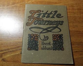 Vintage Little Journeys Book List Elbert Hubbard