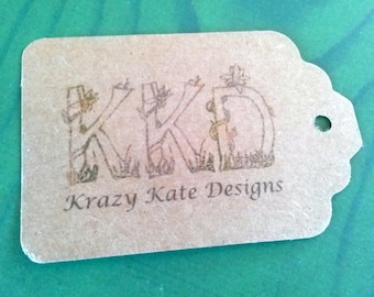 Business Tags, Set of 50, Product Tag, Personalized Tags, custom printing, printed tags