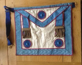 Vintage Mark Degree Master Masons Apron