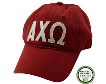 Alpha Chi Omega - Felt Letter Hat