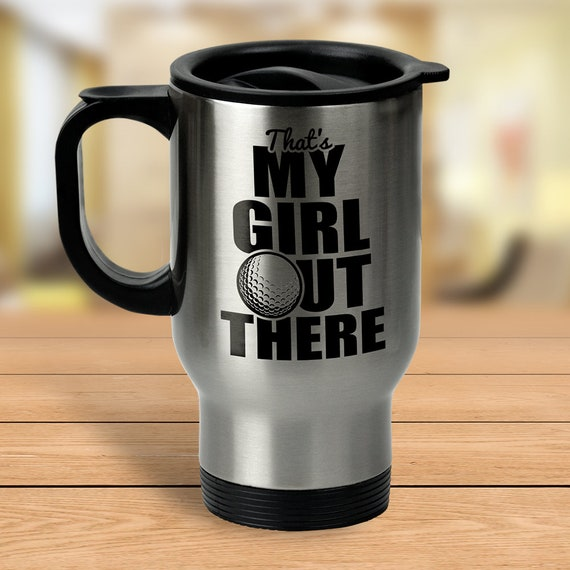 golf travel mug golf gifts golf mom mug travel mug golf