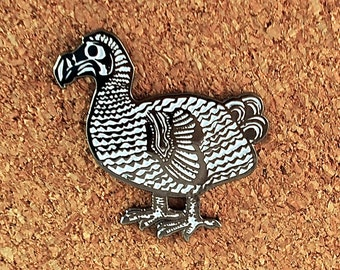 Broche oiseau dodo
