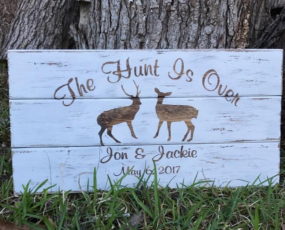 Deer Sign, Personalized Wedding, Personalized Wedding Sign, Gift For Couple, Wedding Gift Ideas, Wedding Gifts Personalized