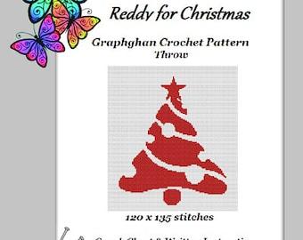 Reddy for Christmas - Graphghan Crochet Pattern