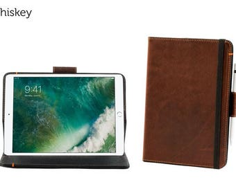 SECONDS - Oxford Leather iPad Pro 10.5 Case - Whiskey | Leather iPad Pro Case (magnet does not work)