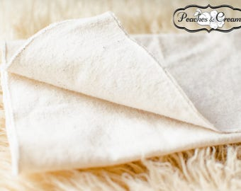 Organic Re-Usable 'Paper' Towels with Organic Cotton Thread