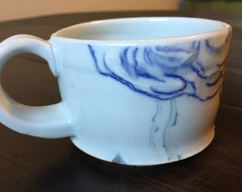 Porcelain Cloud Mug