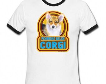 PEMBROKE WELSH CORGI Dog Retro Style