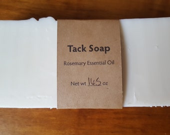 Tack / Saddle Soap - Rosemary Essential Oil