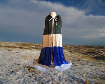 Cloak - Cape - Coat of Many Colors - Halloween - Costume - Renaissance - Wedding - Renaissance Festival - CosPlay - Rainbow - Multicolored