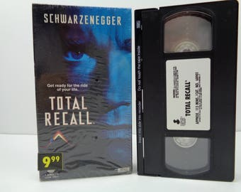 Total Recall VHS Tape