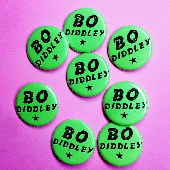 Bo Diddley Pin