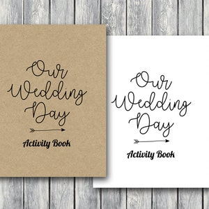 Wedding Kids Activity Book and Coloring, Wedding Kids Table Activities, Wedding Coloring Book, Childrens Sheets Printable, Kids Maze TG08