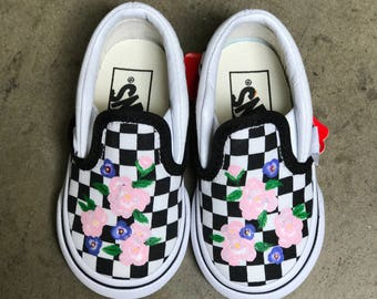 Hand Painted Toddler Vans