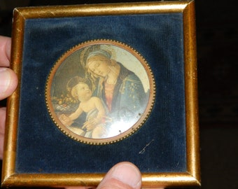 Religious wall decor. very old object. french vintage