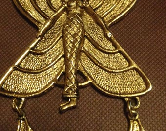 Celebrity Nude Winged Isis Charm Png