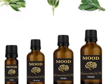 Sage essential oil natural aromatherapy essential oils