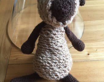 Sorcha the Sheep - 30cm crocheted wool sheep