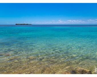 Florida Keys Art Print - Turquoise water - Wall Decor - Photography