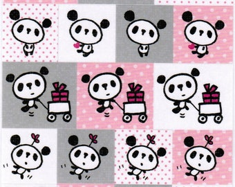 Kawaii Panda Sticker Sheet - A