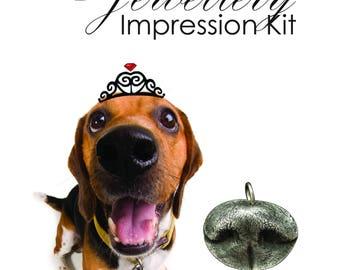 Dog Nose Mold Kit Refill - Dog Nose Impression Kit, Cat Nose Jewellery, Dog Jewelry, Cat Jewelry, Pet Prints