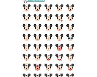 Mickey Emoji Stickers