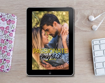 Premade eBook Cover -  Passionate Embrace