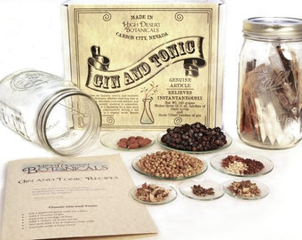 Gin and Tonic Kit - Makes 38 servings